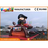 Buy Pirate Inflatable Party Tent , outdoor inflatable Football Helmet Tunnel at wholesale prices