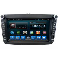 China Black Volkswagen Deckless 8 Inch Car GPS Navigation Android AST - 8087 on sale
