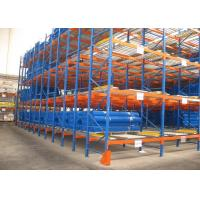 Quality Gravity Roller Industrial Warehouse Storage Racks With Large Capacity for sale