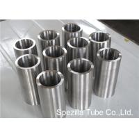 Quality ASME SB338 Grade 7 Seamless Round Titanium Pipe Welding for Condensers / Heat Exchangers for sale