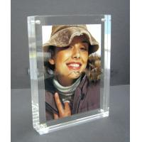Quality acrylic cube photo frame for sale