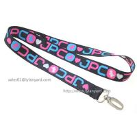Buy cheap Exhibition Meeting Dye Sublimation Lanyard, Gifts Promotion Custom Logo Printed from wholesalers