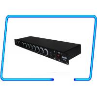 China Stage show 19 rack mountable 8 ways DMX splitter , Light Signal Booster CE approved on sale