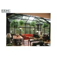 Buy cheap Electrophoresis Environmental Glass Enclosed Sunroom For Office Easy To Install from wholesalers