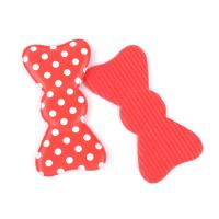 China Customised Red  Fancy Hair Accessories Clips With Foam , Durable / Recycle on sale