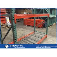 China Standard Teardrop Pallet Rack Shelving Corrosion Protection For Ourdoors on sale