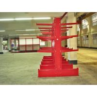 Blue / Orange Cantilever Racking System With Cold Rolling Steel