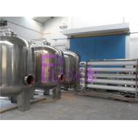 Quality Industrial 20T Single Level Ro Machine With Stainless Steel Water Storage Tanks for sale