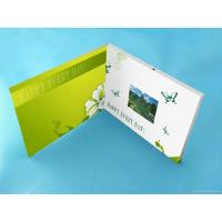 Buy cheap Wedding Custom lcd video greeting card 7 Inch 16.7M brochure with video screen from wholesalers