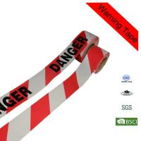 Quality Red Printed PE Construction Warning Danger Custom Barricade Tape for sale