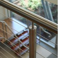 Quality 2018 high quality stainless steel round post cable railing Ideas system for sale