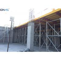 Quality Different Color Slab Formwork Systems Channel Steel / Timber Beam / Plywood Material for sale