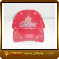 Quality red cotton fashion cap for sale