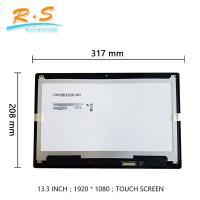 Buy cheap 13.3 Inch FHD B133HAB01.0 touch screen lcd panel for  Acer laptop replacement from wholesalers