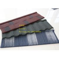 China ISO9001 Zinc Corrugated Roofing Sheet Green Color  Bond Tile , zincalume roof sheeting on sale