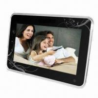 Quality 7-inch Cheerteck Solution Digital Photo Frame with Full Function Remote Control, Clock and Alarm for sale