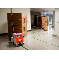 AGV Automated Guided Robot , Automated Guided Tugger High Guiding Accuracy