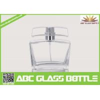 Buy 50ml Pure Perfume Clear Glass Bottle at wholesale prices