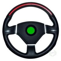 Quality High Precision Injection Molded Parts Steering Wheels With PVC / Leather for sale