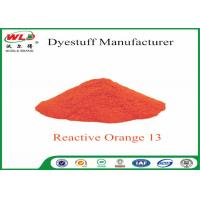 Buy Textile Synthetic Fiber Reactive Dye C I Reactive Orange 13 100% Purity at wholesale prices