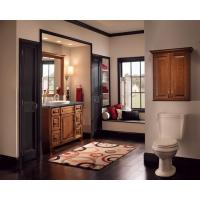 China American standard modern shaker style kitchen cabinets solid wood on sale