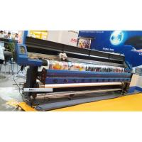 Quality 3.2M Large Format Eco Solvent Printer With Two DX7 Micro Piezo Print Head for Flex Banner for sale