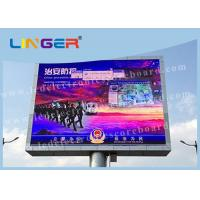 Quality Stadium Perimeter P6 P8 P10 Outdoor Full Color Led Display CE / ROHS Approved for sale