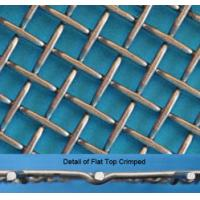 Quality Stainless Steel Flat Top Crimped Wire Mesh, 4-60mm Opening, 1.6-5mm Wire for sale