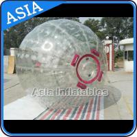 1.0mm PVC Inflatable Zorb Ball With One Entrance and Plug for sale