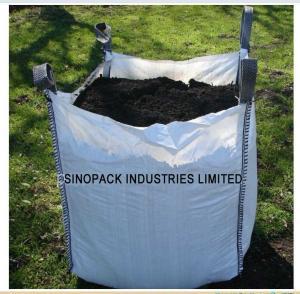 Standard U-panel 1.5 ton Big Bag FIBC with open top for construction