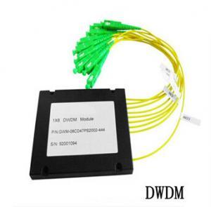 Quality 8CH Fiber Optic communication DWDM , Dense Wavelength Division Multiplexer for sale