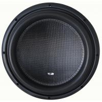 Deep bass High performance Competition Car Subwoofers , RMS 2000W 12 Inch  Subwoofer for sale