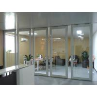 Quality Aluminum Sliding Doors / Collapsing Aluminum Sliding Partition Walls Easy Installation for sale