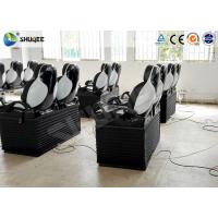 Quality Pneumatic Mobile 5D Cinema With Snow / Bubble / Rain / Wind Effect 2 Years Warranty for sale