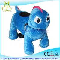 Quality Hansel best selling coin operated rideable dinosaur animal rides for sale