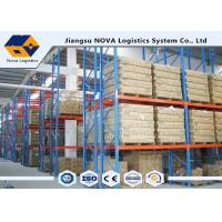 Quality High Capacity Storage Pallet Warehouse Racking Metal Display With Frame Barrier for sale