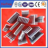 Quality 6061/6063 Aluminium heat sink supplier in China/anodized aluminium extruded for heatsink for sale