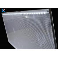 Quality PMMA Acrylic LGP LED Panel , Clear Acrylic Light Panel For Public Places for sale