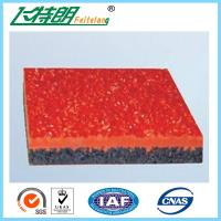 Buy cheap 13MM Rubber Running Track system  for  Outdoor Athletics Track from wholesalers