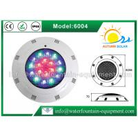 Quality Plastic Material Underwater Pool Lights High Power Wall Hung Type For Swimming Pool for sale