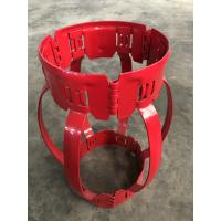 China High Restoring Force Spiral Glider Centralizer , Durable Pipe Centralisers for sale