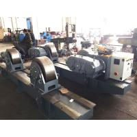 Buy 500T Bolt Adjustment Pipe Welding Rotator Steel Wheel/ Tank Turning Rolls at wholesale prices