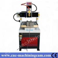 Quality cnc router metal cutting machine ZK-4040(400*400*120mm) for sale