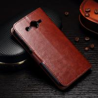 Quality PU Leather Huawei Y3 Phone Case Handmade Light Weight With Slot Function for sale