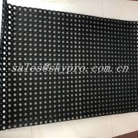 Buy cheap Black Hole Type Hydrophobic Rubber Mats For Kitchen Workshop from wholesalers