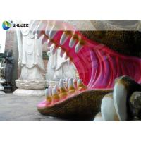 Quality Flexible Mobile 5D Dinosaur Cinema Equipment 5D Movie Theater System ISO9001 for sale