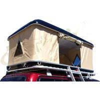 Quality Double Layer Automatic Hard Top Car Tent , 3 Person Roof Top Tent Custom Printed for sale
