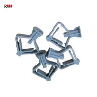 China Elasticity Plastic Wall Anchors Butterfly Screws For Gypsum Plate Expansion Tube on sale