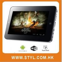 Quality Cheap 7 capacitive google android tablet VIA WM8650 complied with CE/FCC/ROHS for sale