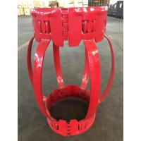 China 4 1/2''---20'' Single Piece Centralizer With Excellent Hardness 65Mn Steel for sale